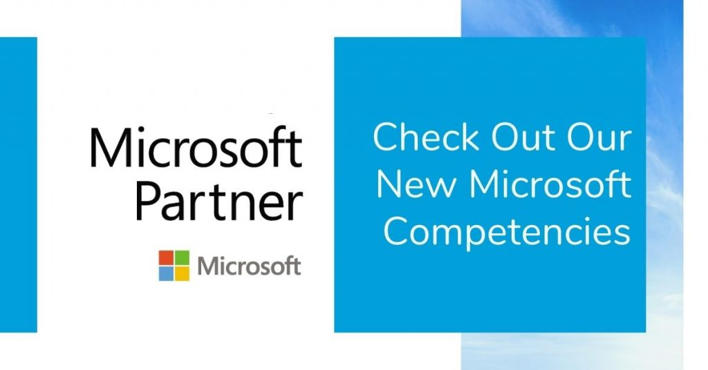 New Microsoft Competencies Earned