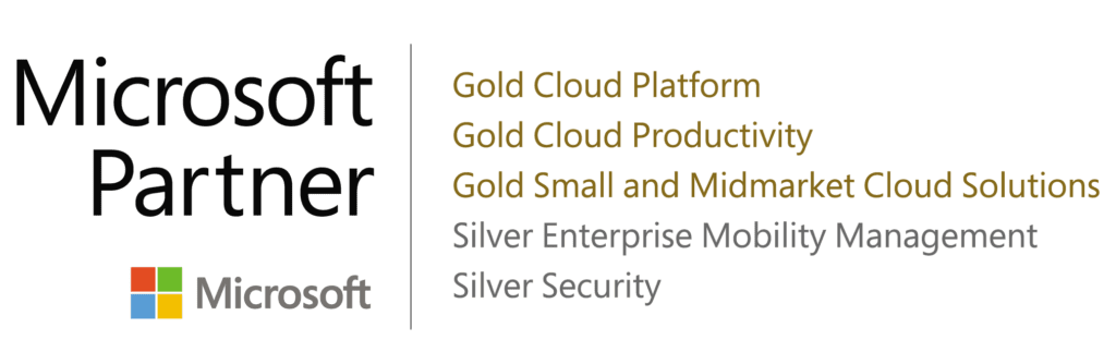 MSFT Partner Logo new gold and silver Sept 2020-01