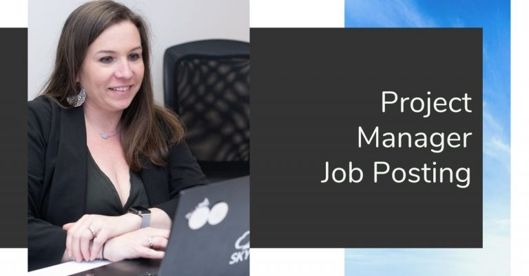 Project Manager Job Post 08_2021